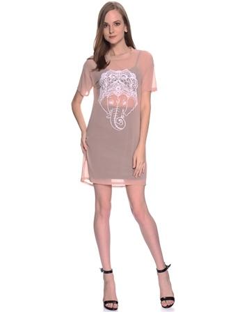 Şifon Mini Elbise Missguided