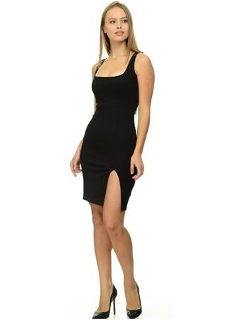 Missguided Yırtmaç Detaylı Elbise