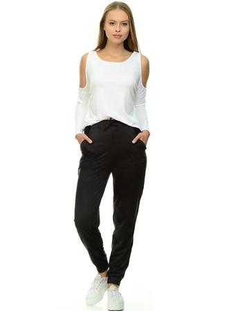 Omuz Detaylı Beyaz Bluz Missguided