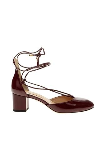 İnci Topuklu Ayakkabı