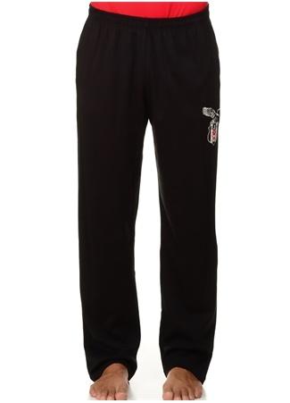 Bordo - Siyah Baskı Desenli Pijama Roly Poly