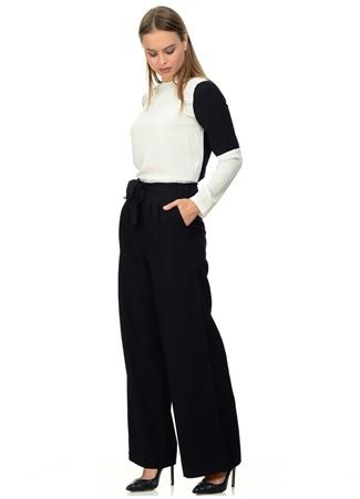 Vero Moda Kuşaklı Bol Kesim Jean Pantolon