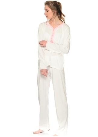 Dantel Detaylı Pijama