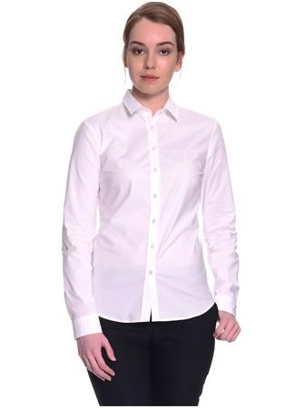 Beyaz Uzun Kol Gömlek Fabrika