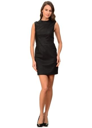 Siyah Kolsuz Elbise Only