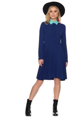 Mavi - Turkuaz Elbise Liquorish