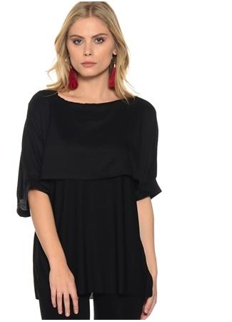 Liquorish Siyah T-Shirt