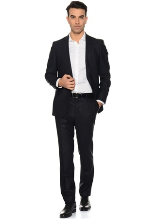 Beymen Business Siyah Takım Elbise