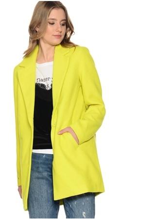 Küflü Limon Sarısı Kaban Vero Moda