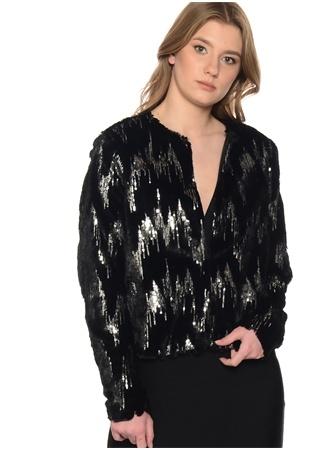Siyah Pul Detaylı Kaban Vero Moda
