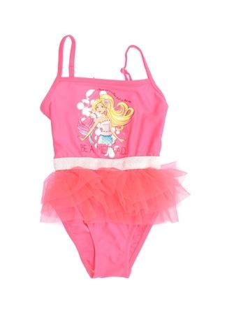 Barbie PL Kız Çocuk Mayo