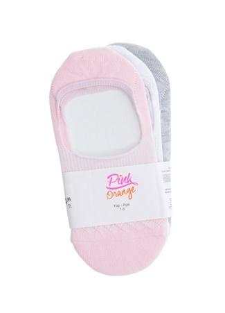 Kız Çocuk Çorap Pink&Orange