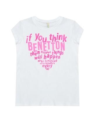 Genç Kız T-Shirt Benetton