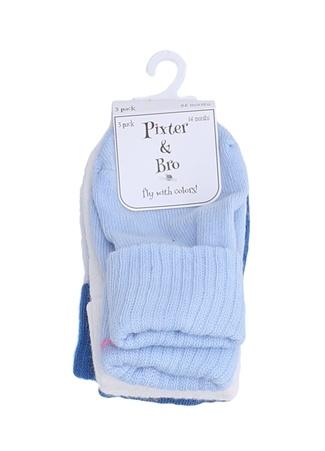 Pixter&Bro Renkli Erkek Bebek Çorap