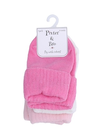 Pixter&Bro Renkli Kız Bebek Çorap