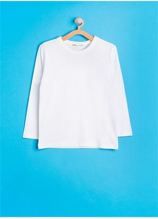 Koton Beyaz Unisex Çocuk T-Shirt